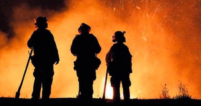 Kaliforniya yangınlarıyla mahkûmlar da savaşıyor