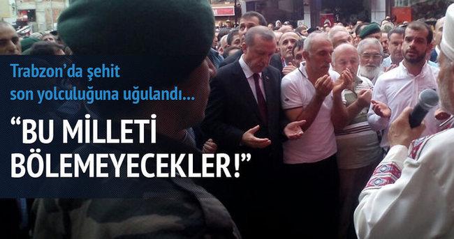 Şehit Başkomiser Trabzon'da uğurlandı!