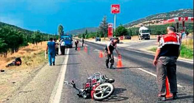 İki motosiklet çarpıştı: 2 yaralı