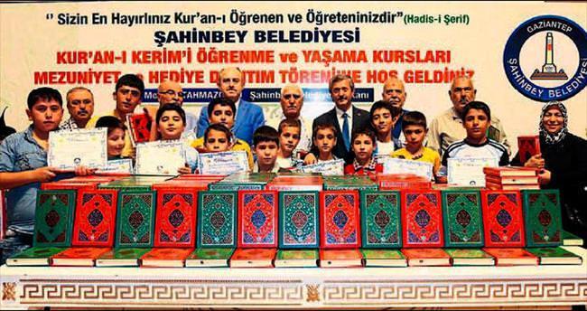 Şahinbey'de 8 bin kişi Kuran öğrendi