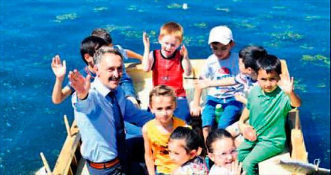 Ova Çayı'nda çocuk cıvıltıları