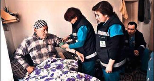 Hasta ve yaşlıya sağlık hizmeti