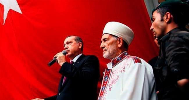 Şehit Başkomiser'i Erdoğan uğurladı