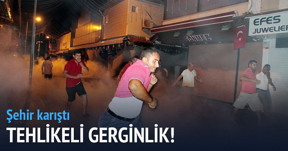 Antalya'da tehlikeli gerginlik!