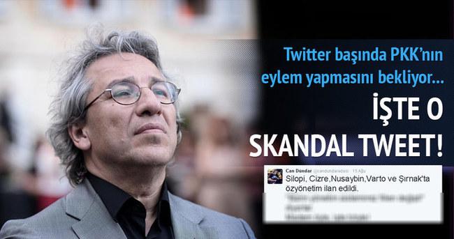 Can Dündar PKK'nın eylemlerine sahip çıktı!