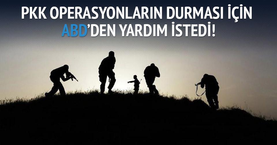 PKK operasyonların durması için ABD'den yardım istedi