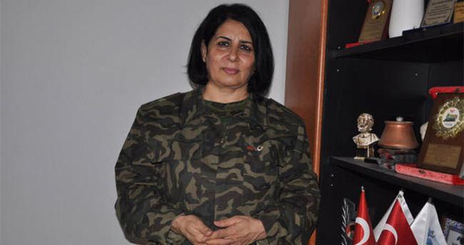 Azeri kadın yüzbaşı: Türkiye için savaşmaya hazırım