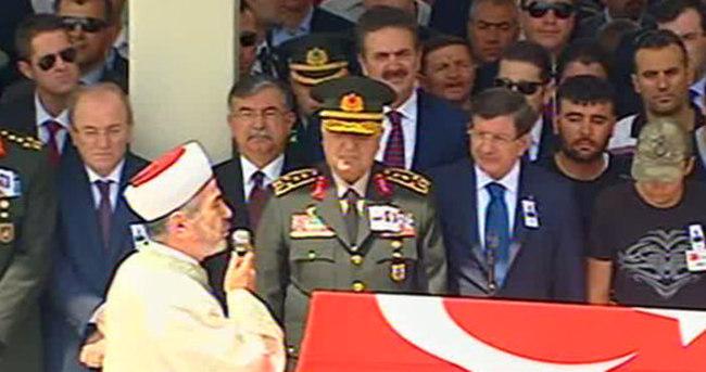 Ankara'da şehit Astsubay uğurlandı
