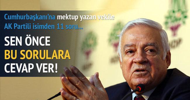 Yasin Aktay'dan Dengir Mir Mehmet Fırat'a 11 soru!