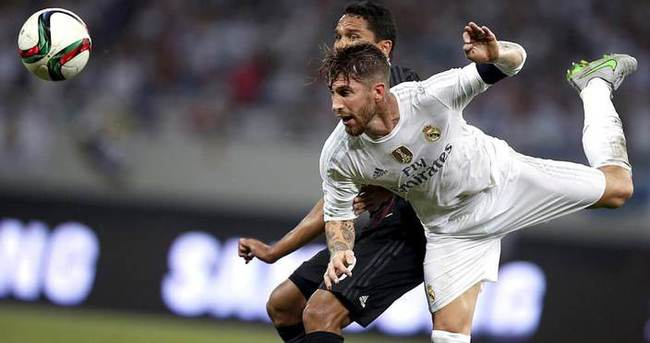 Ramos, Real Madrid'de kaldı