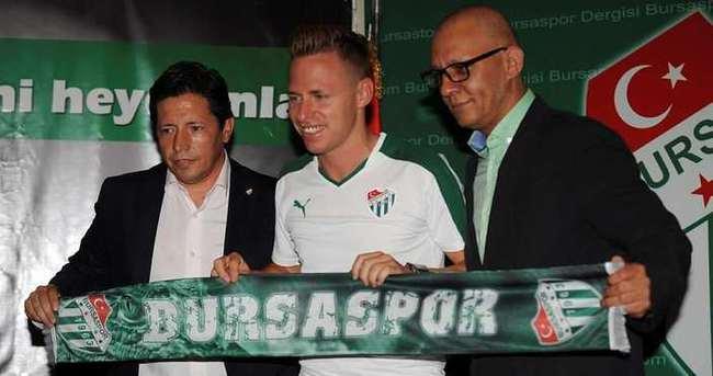 Bursaspor Dzsudzsak ile sözleşme imzaladı