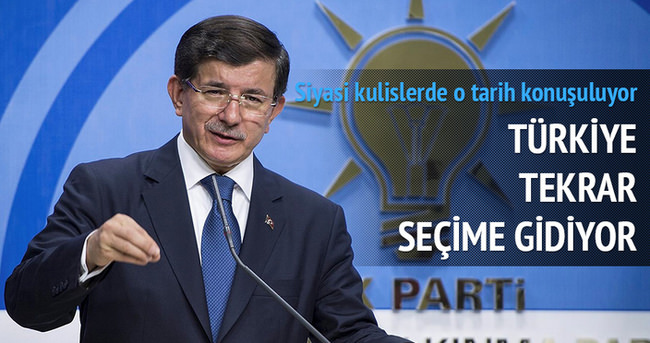 Türkiye tekrar seçime gidiyor
