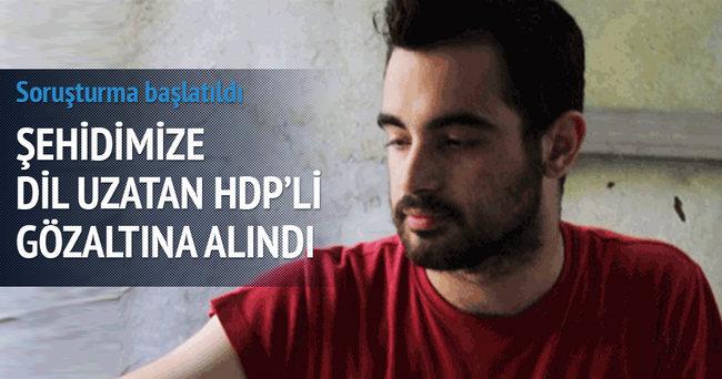 HDP'li Bercan Aktaş gözaltına alındı