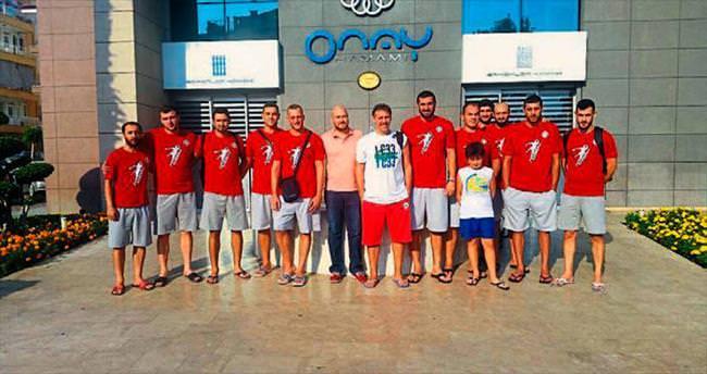 Antalyaspor hamamda terledi