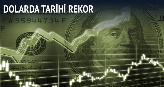 Dolarda rekor