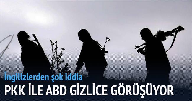 PKK, ABD ile gizlice görüşüyor