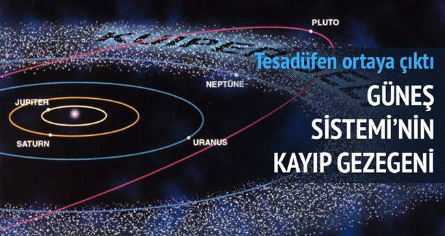 Güneş Sistemi'nin kayıp gezegeni...