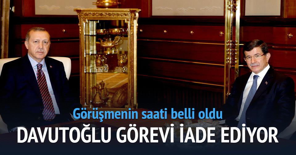 Başbakan Davutoğlu görevi iade edecek!