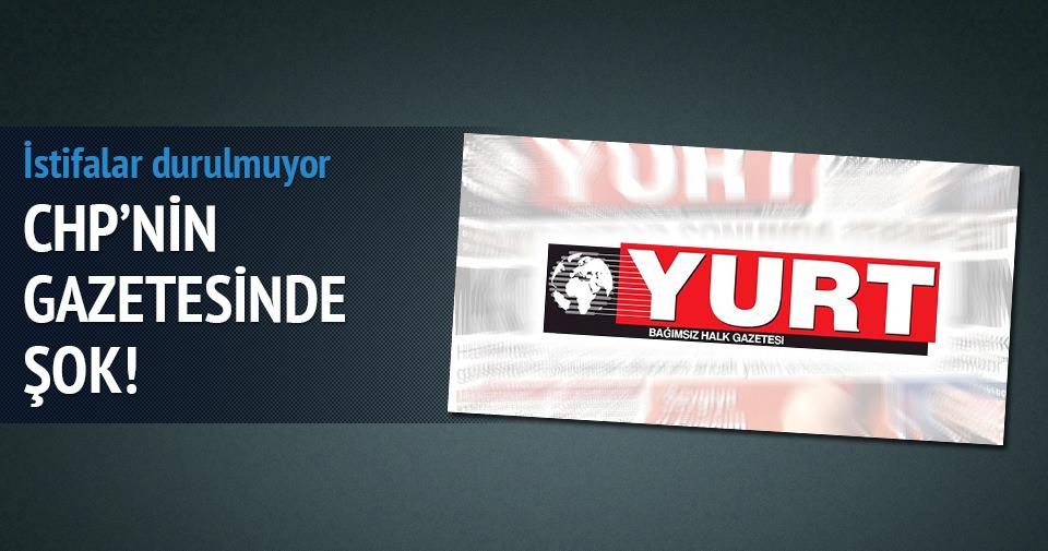 Merdan Yanardağ Yurt Gazetesi'nden istifa etti