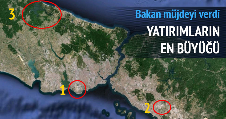 İstanbul'daki 3 havalimanı birbirine bağlanacak