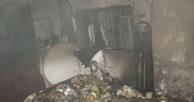 Yangında ev kül oldu Kur'an-ı Kerim yanmadı