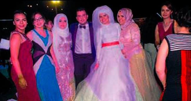 Fethiye'de masal gibi düğün töreni