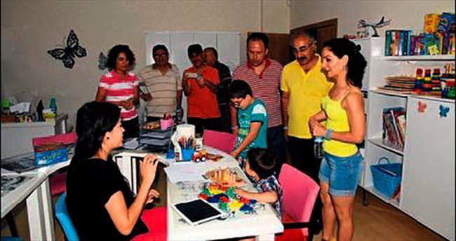 Engelli tatilciler Alanya'yı seçiyor