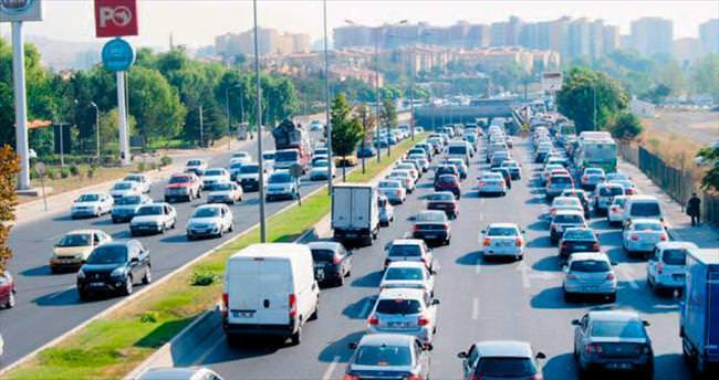 Trafik kaosu sona erdi