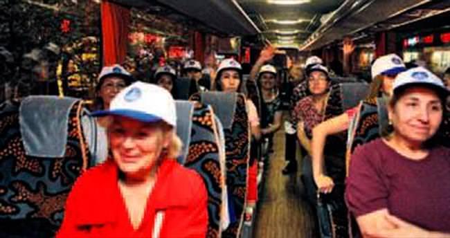 Şişli'den Hacı Bektaş'a 800 ziyaretçi