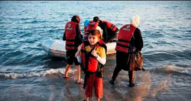 Bir haftada 21 bin mülteci sığındı