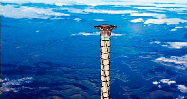 20 kilometrelik uzay asansörü