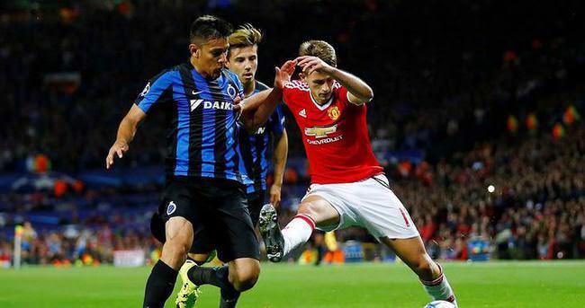Manchester United: 3 - Club Brugge: 1