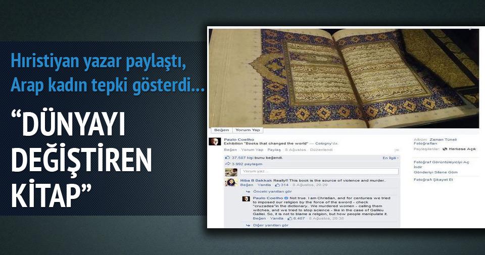Brezilyalı yazardan Kur'an paylaşımı!