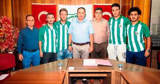 Ceyhan Belediye'de dört imza