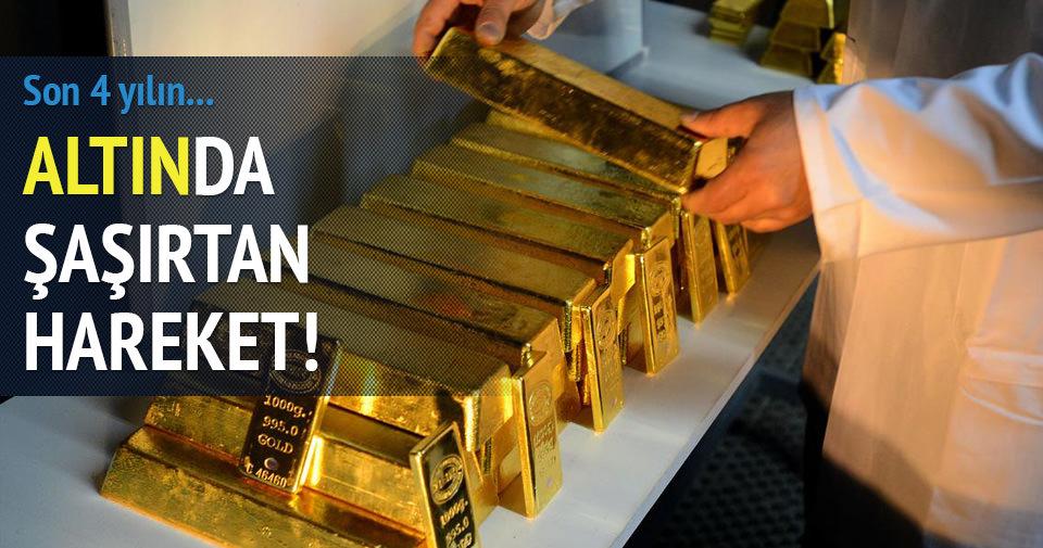 Gram altın son 4 yılın zirvesinde!