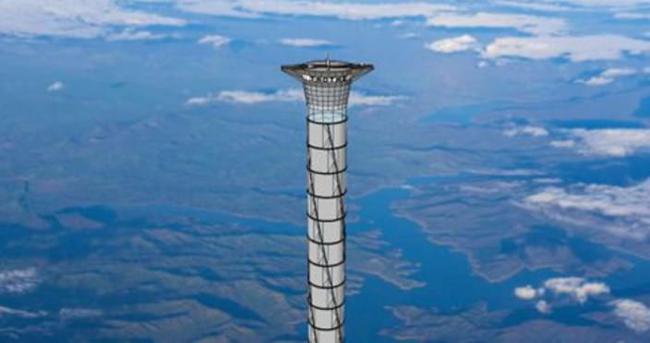 Uzay asansörünün patenti alındı