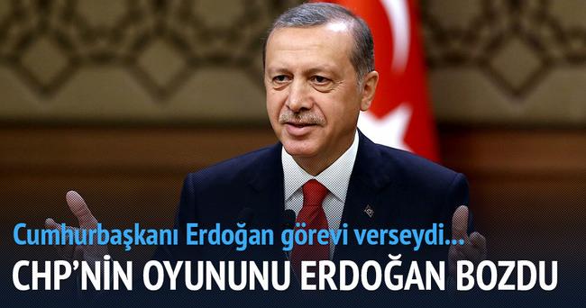 CHP'nin oyununu Erdoğan bozdu