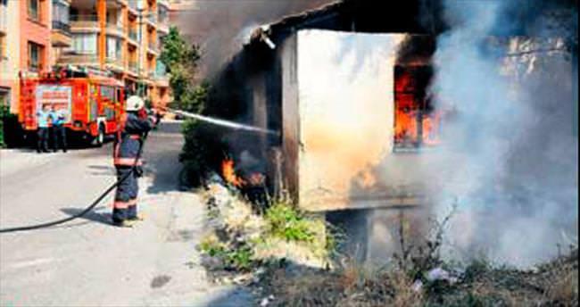Başkentte bir ayda bin 705 yangın çıktı