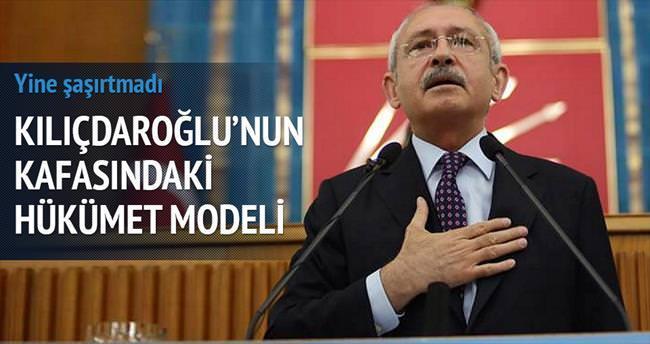 Kafasındaki model 'Ecevit Hükümeti'
