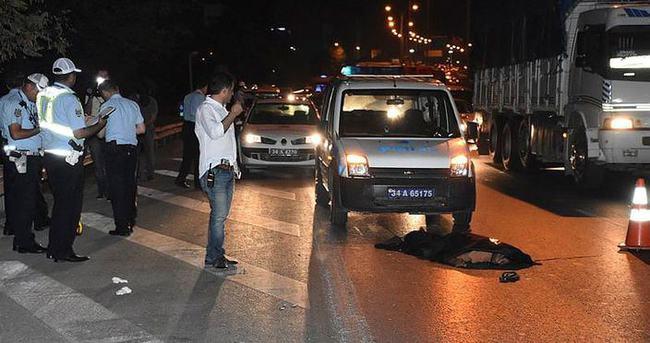 Bayrampaşa'da otomobilin çarptığı yaya öldü