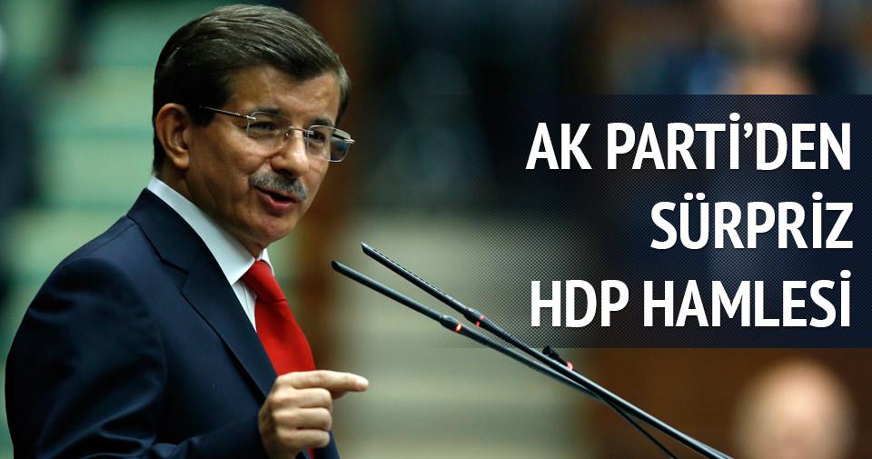 AK Parti'den HDP algısına karşı sürpriz hamle