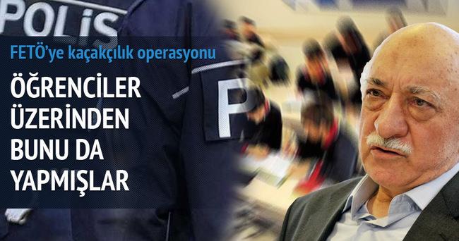 FETÖ'ye kaçakçılık operasyonu