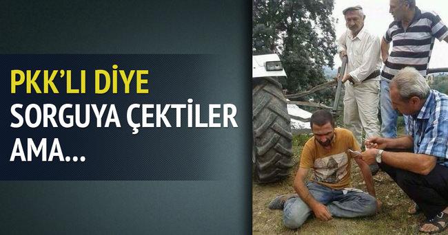 Samsun'da terörist paniği!