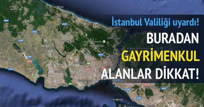 İstanbul Valiliği vatandaşı uyardı!