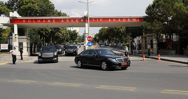Başbakan Davutoğlu'dan gazilere ziyaret