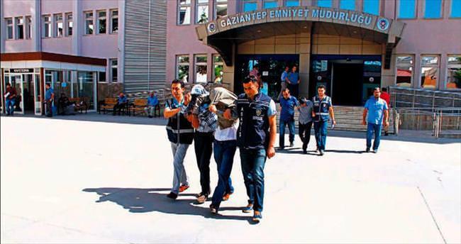 Gaziantep'te seyyar hırsızlar yakalandı