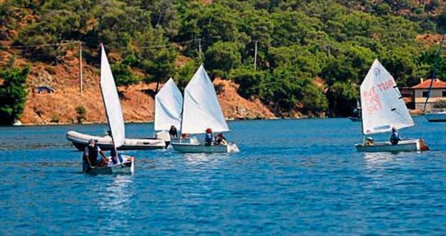 Geleceğin yelkencileri Fethiye'de yetişiyor