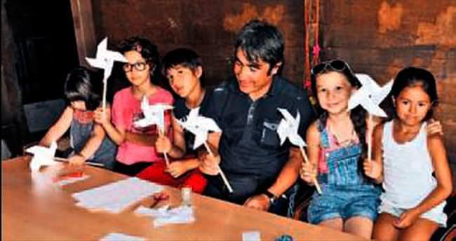 Çocuklara telkâri sanatı anlatıldı
