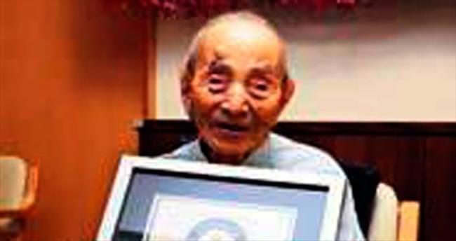 Dünyanın en yaşlı erkeği artık bu Japon