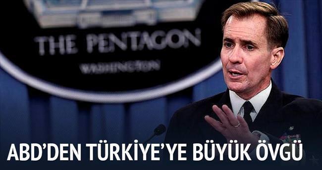 ABD'den Türkiye'ye DAEŞ teşekkürü